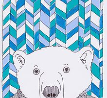 Geo Polar Bear by Adam Regester