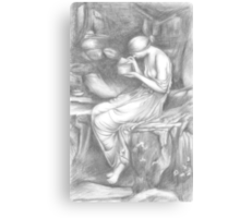 Psyche Opening the Golden Box Canvas Print