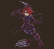 Black Widow- Ninja Style  by pagebranson