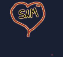 i love SAM heart  by Tia Knight