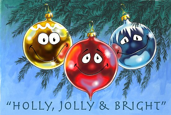 Holly, Jolly & Bright by Rembrant