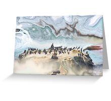 ICEY ISLAND Greeting Card