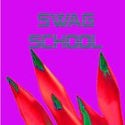 Swag School Purple Case by EducatedTruth