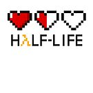 Half Life Pixel Hearts by HamSammy