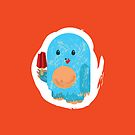 Popsicle Yeti: iPhone Case by Jeff Pina