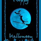 halloween card by Kestrelle
