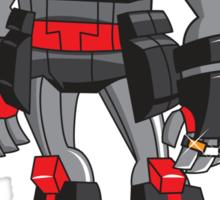 PIT-T Soldierbot of Fortune Robot Sticker Sticker