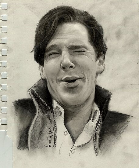 The Laughing Benedict by astudyinblack