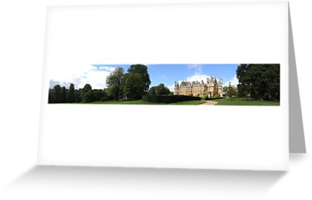 Waddesdon Manor - Panoramic by CreativeEm