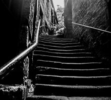 Stairs, at Side, Newcastle Upon Tyne by Andrew Pounder