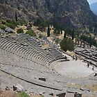 Amphitheater - Delphi by Jamie Alexander