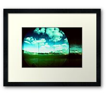 Cloud Echoes Framed Print