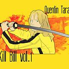 The Bride vs. the Crazy 88 (Kill Bill) by anemophile