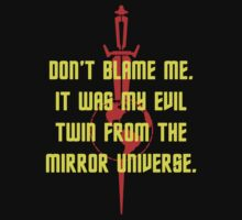 Don't Blame Me - Mirror, Mirror by Buleste