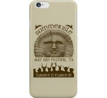 Summerisle May Day Festival 1973 iPhone Case/Skin
