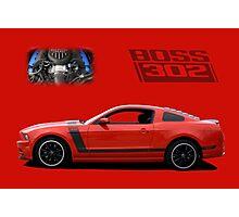 2013 Mustang Boss 302 Photographic Print