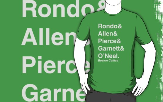 2010-2011 Boston Celtics Jetset by RiceRemix
