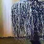 Under the Willow - 2 by Dana Al-Aghbar