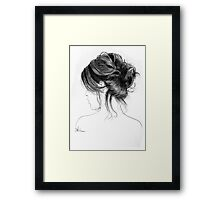 the element of herself Framed Print