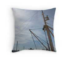 Yearning for the Sea Throw Pillow