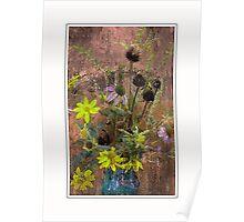 Autumn Bouquet in a Mason Jar Poster