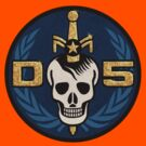 Danger 5 Emblem (Gigantic) by dinostore