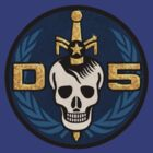 Danger 5 Emblem (Pocket) by dinostore
