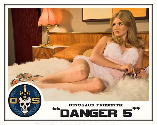 "Danger 5 Lobby Card #1 - ""The fruit is ripe but the tree is yet to be harvested"" by dinostore"
