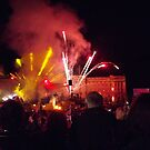 Fireworks during Queen's Jubilee Concert by graceloves