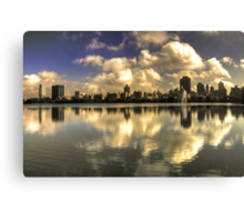 East Side Reflections  Canvas Print