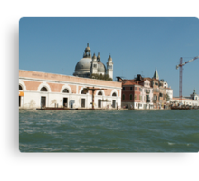 View on Venice  Canvas Print