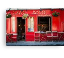 Paris: Chez Marie Canvas Print
