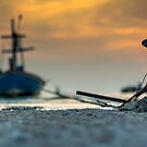 Anchor on sand by arthit somsakul