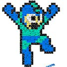 Megaman Pixelfaces by Gwendal