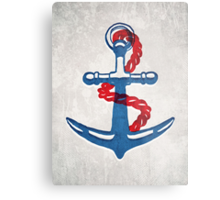 So why were you so anchorless?  Metal Print