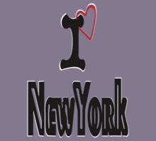 ??I Love NewYork Clothing & Stickers?? by Fantabulous