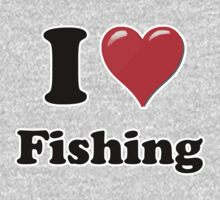 I Heart Fishing by HighDesign