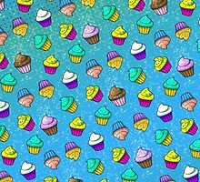 80s Cupcakes! by easybeasy