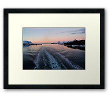 Fjord, Norway Framed Print