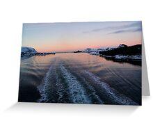 Fjord, Norway Greeting Card