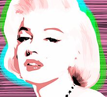Marilyn Monroe - Pink Dream - Pop Art by wcsmack
