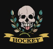 Hockey Skull by SportsT-Shirts