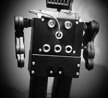 Dark Metal Robot by Edward Fielding