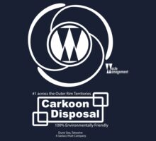 Carkoon Disposal (white) T-Shirt