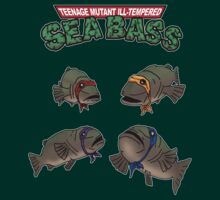 Teenage Mutant Ill-Tempered Sea Bass by Rob Goforth