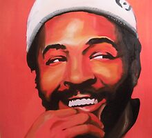 Marvin Gaye by Matt Burke
