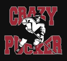 Crazy Hockey by SportsT-Shirts