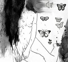 she likes the night by Loui  Jover