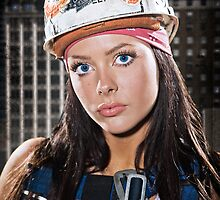 Ciara - The Iron Worker by Jeff Zoet