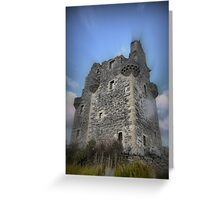 Scalloway Castle ( 1 ) Greeting Card